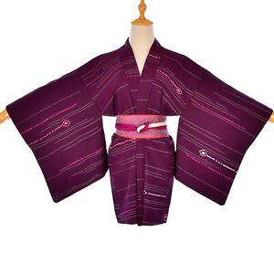 Handmade silk sash belt corset kimono fabric & silk Japanese obijime rope