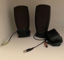 Dell Multimedia A215 Computer Speakers Black with AC Adapter