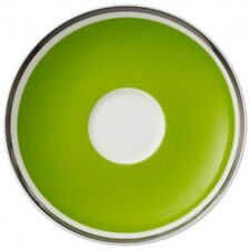Villeroy & and Boch ANMUT - Forest Green saucer for tea / coffee cup 15cm NEWNWL