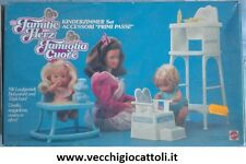 Mattel Famiglia Cuore Heart Family Accessori primi passi 1987 Bringing up baby