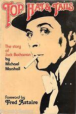 Jack Buchanan - Top Hat & Tails - Hardback Book Signed - AFTAL