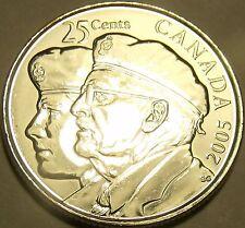 Gem Unc Canada 2005 Veterans Quarter~Fantastic~Honor Our Veterans~Free Shipping