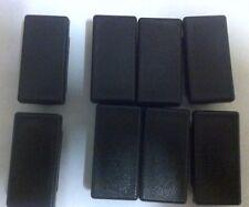 8 di 50mm x 25 mm Square fuori quota PLASTICA estremità per tubo in metallo