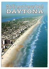 World's Most Famous Beach Daytona Florida Postcard White Sandy Beaches Waves