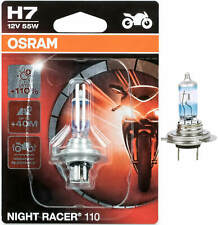 H7 Motorcycle Car Low Beam Light Px26d Osram Lamps Bulb 55W 12V Night Racer Lamp