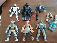 Star Wars Hero Mashers Lot of 6 Figures Boba Fett Darth Vader Storm Trooper Part