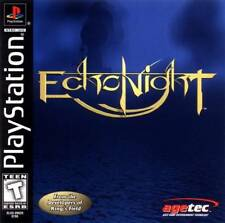 Echo Night PS1 Great Condition Fast Shipping