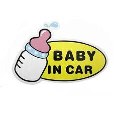 1pc Baby in Car Baby Safety Sign Car Sticker, Car Decal - Cartoon Nipple