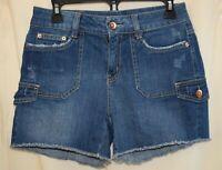 """Women's Denim Shorts - Size 6 (15"""" across waist & 4"""" Inseam) - New w/o Tags"""