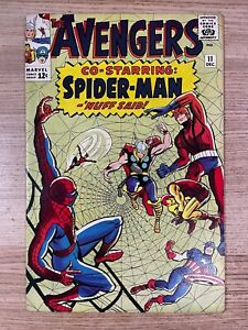 Avengers #11 (Marvel Comics) Spider-Man appearance Silver Age