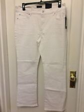 Not Your Daughters Jeans NYDJ Tummy Tuck Optic White Modern Boot Jeans Size 12P