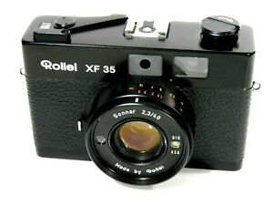 ROLLEI XF 35 +SONNAR 2,3/40 mm RF/RANGEFINDER CAMERA MINTY AS NEVER USED!TESTED!