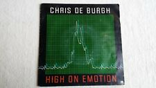 Vinyle 45 tours CHRIS DE BURGH High on emotion