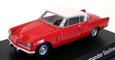 Best Of Show 1/87 Scale BOS87240 - Studebaker Commander Starliner - Red