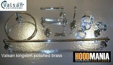 Brass Bath Accessory Sets with Towel Rail