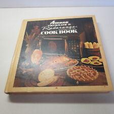 Amana Touchmatic II Radarange Microwave Oven Cook Book vintage hardcover