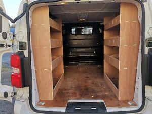Toyota Proace MWB (New 2016 onwards) REAR Van Racking, Plywood Shelving, Storage