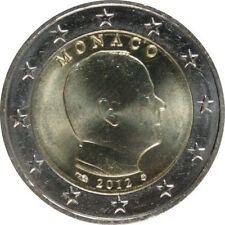 Pièces euro de Monaco pour 2 euro année 2012