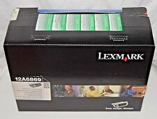 New Genuine Lexmark Toner High-Yield Black  Cartridge 12A6869 T620 T622 X620