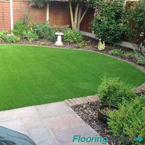Squash 7mm Artificial Grass 3m x 4m Garden Plastic Lawn Turf Astro Green Fake