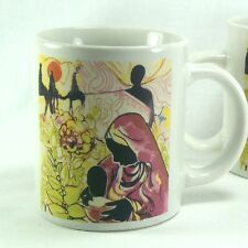 Heritage Collection Africa Coffee Cup Mug Man Woman Child Camels