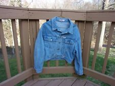 Women's Guess Denim Jacket - Georges Marciano design 90's size Small