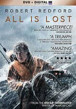 All Is Lost (DVD, 2014) U.S. Issue W/ Digital Download Robert Redford Fast Ship!