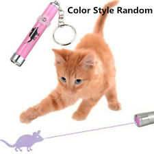 Cat Play LED Laser Pointer Toy With Bright Mouse Animation For Endless Fun KE/UK
