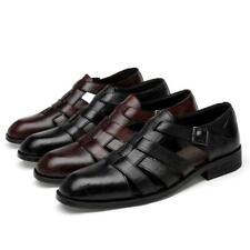 Vogue Men's Gentleman Hollow out Sandals Shoes Dress Formal Business Buckle Chic