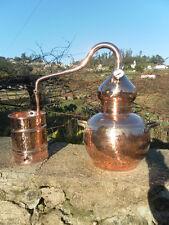 Premium Copper Alembic Moonshine & Whiskey Still w/ thermometer 10 L - 2.5G