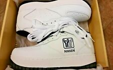 NIKKEN Mens White Cardiostride Weighted Workout Athletic Shoes Size 11.5 RARE