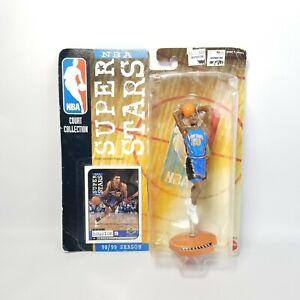 1998 Reggie Miller Mattel NBA Super Stars Action Figure New Sealed