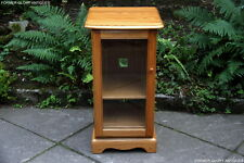 ERCOL LIGHT ELM HI FI STORAGE CABINET STAND SHELVES LAMP PHONE COFFEE TABLE UNIT