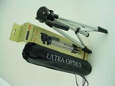 """Ultra Optics PR-TR50 - 50"""" Photo Video Tripod W/ 3 way Fluid Head - Mint & Boxed"""