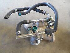 yamaha xvs950 v star 950 intake manifold fuel injectors 2009 2010 2011 2012 2013
