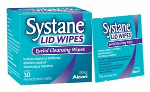 Systane Lid Wipes Eyelid Cleansing Wipes x 30