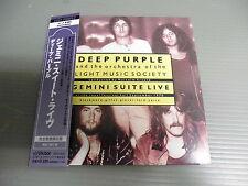 DEEP PURPLE Japan Mini LP CD with OBI, GEMINI SUITE LIVE