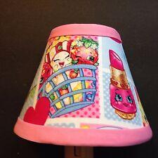 Shopkins Pink Patchwork Fabric Children's Night Light