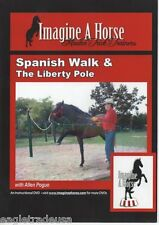Spanish Walk & The Liberty Pole - IMAGINEAHORSE Trick Training Horses DVD NEW