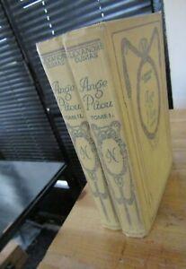 ALEXANDRE DUMAS -ANGE PITOU-COMPLET en 2 VOLUMES-Relié-LITTERATURE-1934