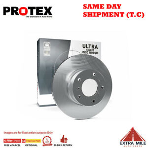 Protex Ultra Select Front Rotor Pair For PEUGEOT 206 XR 1.4L 1999 - 2007