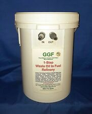 One-Step Waste Vegetable Oil Cooking Oil WVO Refinery WVO Filter BioDiesel