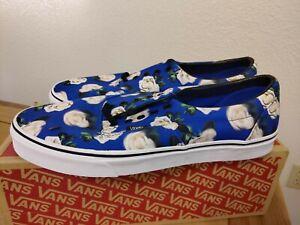 Vans Era Romantic Floral Lapis Blue White Skate Shoes Men's 13 VN0A38FRVP9 NEW