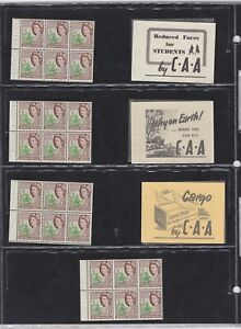 Southern Rhodesia Four Blocks of six Mint Africa