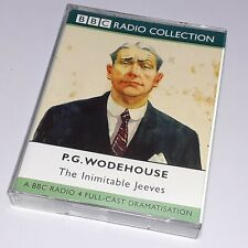 P G WODEHOUSE THE INIMITABLE JEEVES DOUBLE CASSETTE TAPE AUDIOBOOK BBC RADIO
