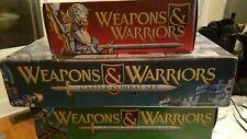 Weapons & Warriors 3 Box Lot--Brand New