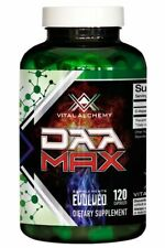 VITAL LABS DAA MAX D-Aspartic Acid 1500mgs x120 Testosterone Boost PCT Sex Drive