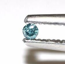 individual melee loose round estate diamonds SI1 Blue 2.0mm 0.03ct-0.04ct