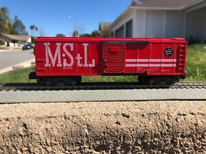 VERY NICE ORIGINAL POSTWAR AMERICAN FLYER #24048 MINN. & ST. LOUIS BOX CAR