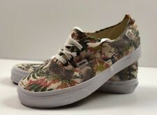 Vans Authentic Birds Turtledove/True White Low Top Shoes, Men's 8.5